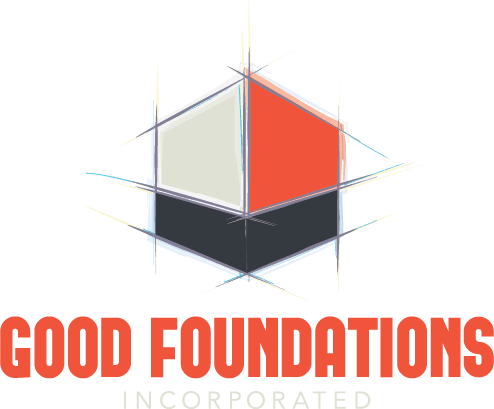 Good Foundations Incorporated - logo developed by CleverOgre