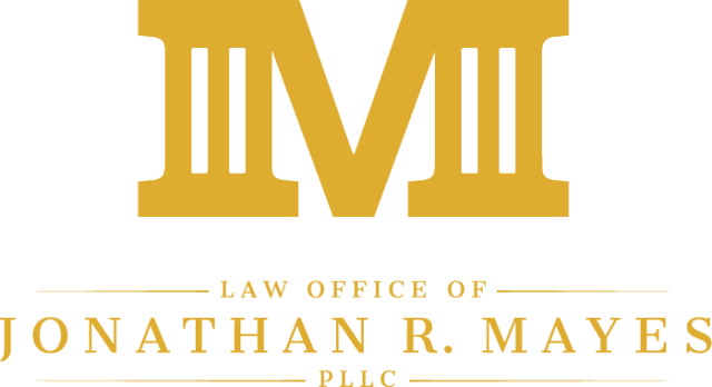 Law Office of Jonathan Mayes - logo designed by CleverOgre
